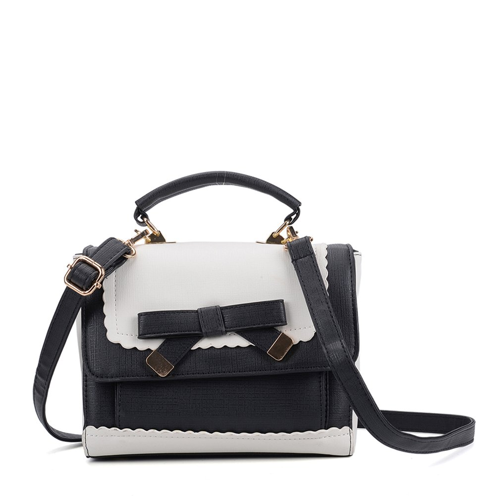 a5372b8bad3e SALLY YOUNG High Quality PU Leather Lovely, Spacious And Functional  Messenger Bag Contrast Color Cross Body Bag