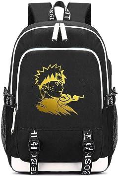 Anime Naruto Mochila Sasuke Kakashi Bookbag Daypack bolsa de ...