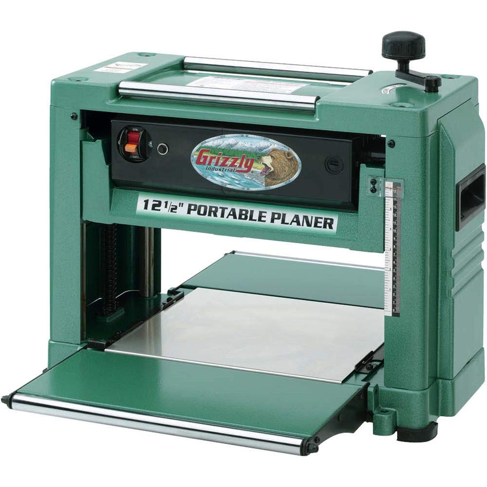 """Grizzly Industrial G0505-12-1/2"""" 2 HP Benchtop Planer"""