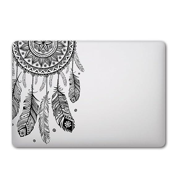 iCasso extraíble Atrapasueños adhesiva de vinilo para Apple Macbook ...