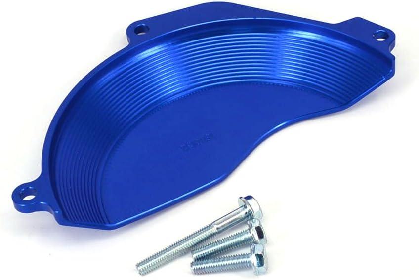 Orange Aluminum Engine Case Clutch Cover Guard Protector For KTM SXF250 SXF350 16-17 EXCF250 EXCF350 17 Husqvarna FC250 FC350 16-17 FE350 16