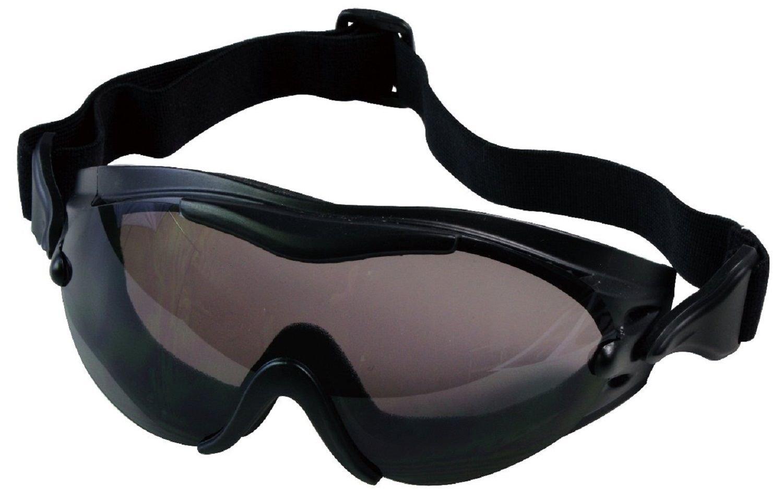 ゴーグルブラックVented曇り止め/ Scratch UV保護swattecゴーグル B07255VL1R