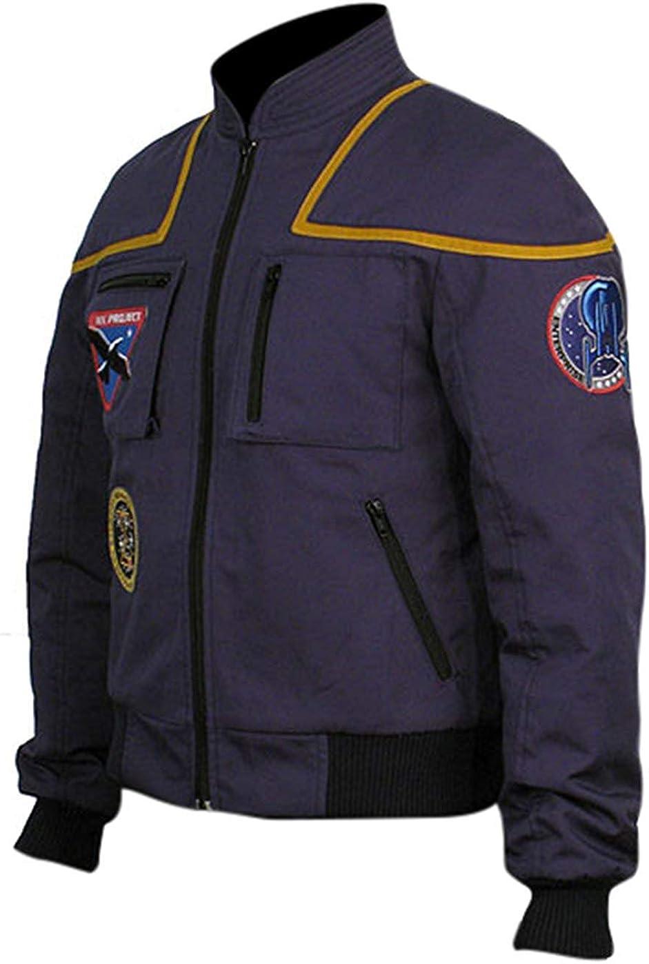 Genius e Veste légère pour Homme Star Trek Blue Cotton Jacket