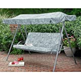 Palermo Green Floral Replacement Canopy For 3 Person Swing Review