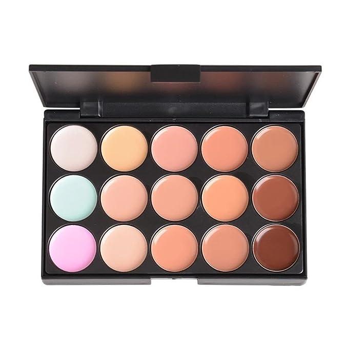 11 opinioni per PhantomSky 15 Colori Correttore Cosmetico Camouflage Palette Trucco #1- Perfetto