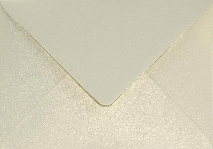 100 Perlmutt-Rose-Gold DIN B6 Briefumschl/äge 125x175/mm Aster Metallic Candy Pink Gold ohne Fenster Perlmutt-Glanz-Umschl/äge Perlglanz Pearls Perleffekt metallisch-gl/änzende Kuverts Metallic-Effekt