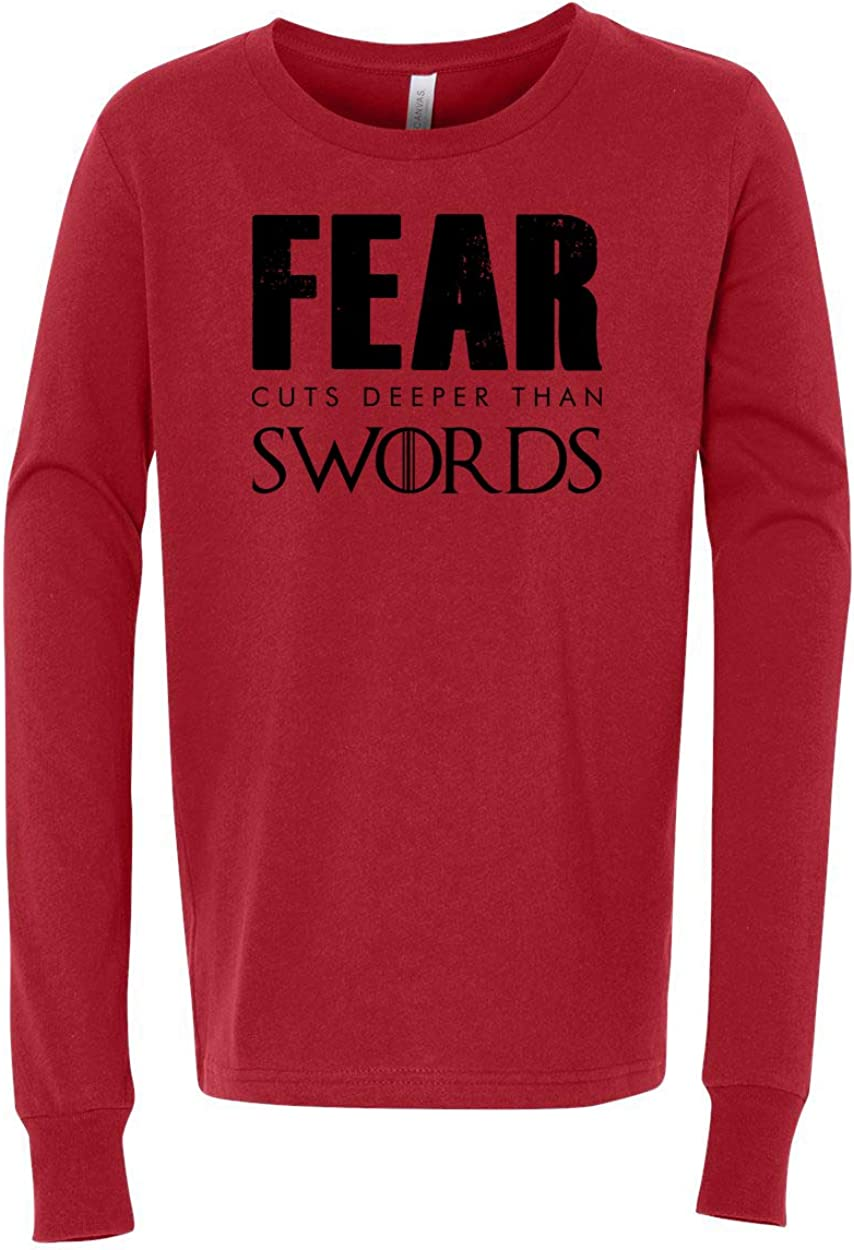 Games of Thrones Fear Cuts Deep Girls Boys Long Sleeve