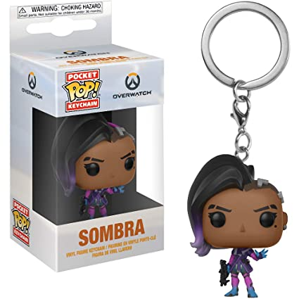 Amazon.com: Funko Sombra: Overwatch x Pocket POP! Mini ...