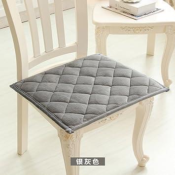 Memory Foam Coral Fleece Anti Rutsch Esszimmer Stuhl Kissen,Moderne  Einfache Stuhl Polster Computer