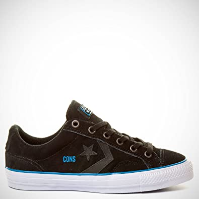 Converse Star Player Pro - Black Gravel Suede Shoe 144591C (UK8 ... b8b69ab85