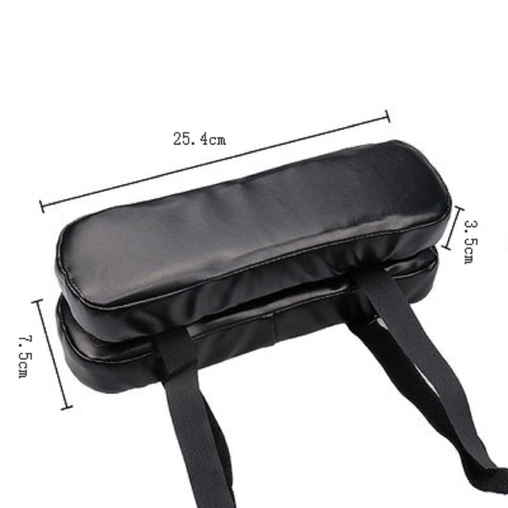 Black FUYUFU 2pcs PU Armrest Pad Memory Cotton Armchair Cushion to Relieve Elbow Pressure Office Chair Arm Cushion Game Hand Pad