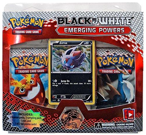 Pokemon Black & White Emerging Powers 2 3-Pack Card Game (Best Black And White Pokemon Cards)