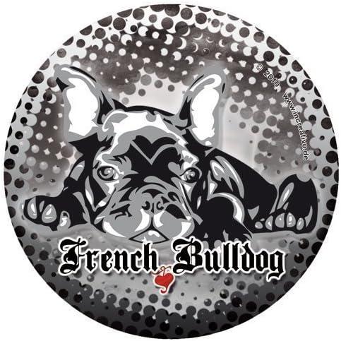 Französische Bulldogge Hunde Aufkleber French Bulldog Sticker Decal Molly Dub Auto