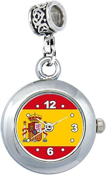 España Reloj para el Collar o Pulsera: Amazon.es: Relojes