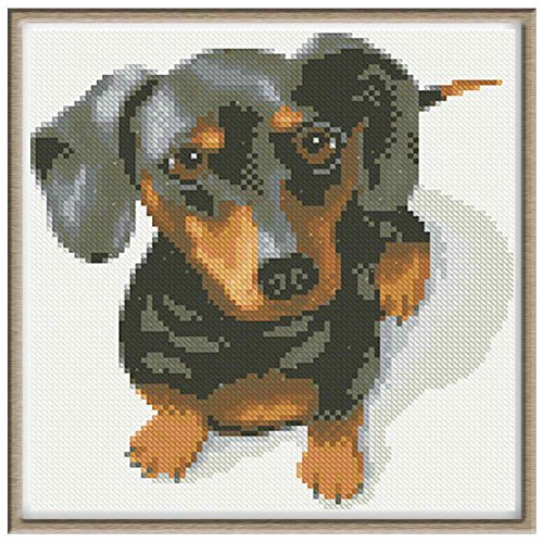 Price comparison product image WindGoal 5D DIY Diamond Painting Resin Pictures Of Crystals Embroidery Patchwork & Cross Stitch For Decoration Gift-Dog 1