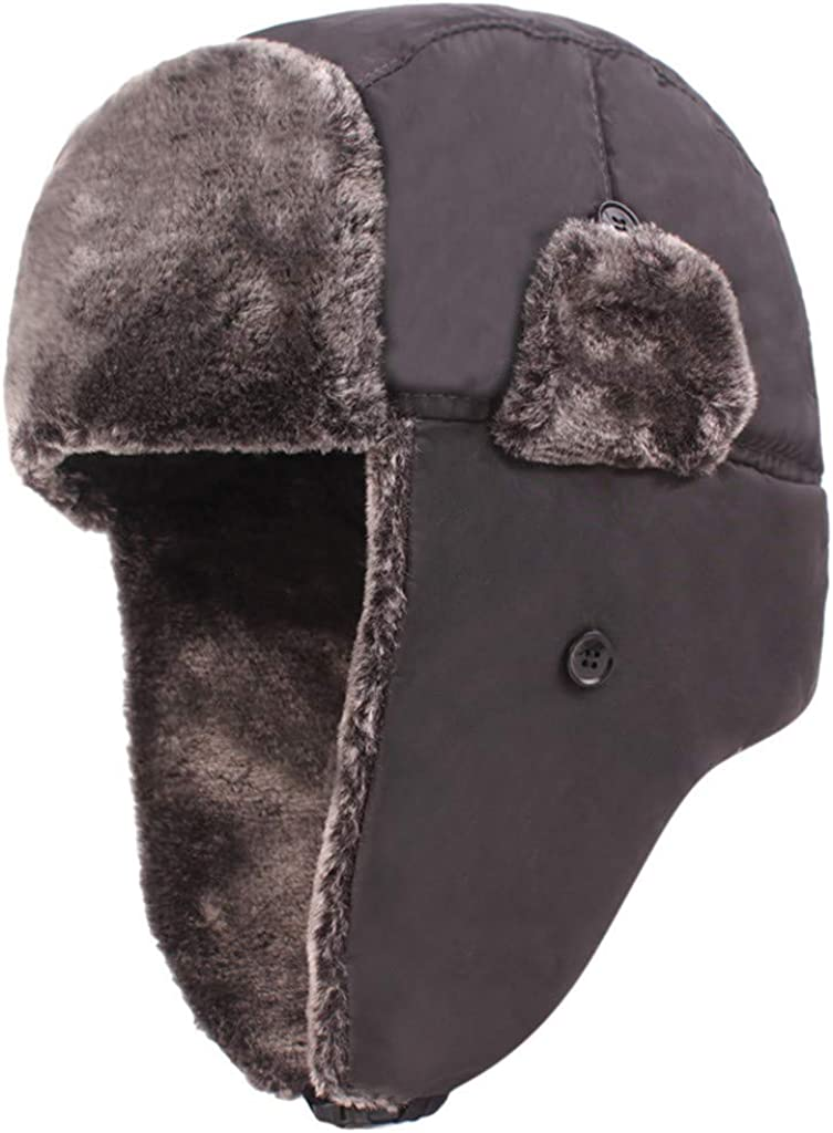 Xesvk Men's Winter Snow Cap...