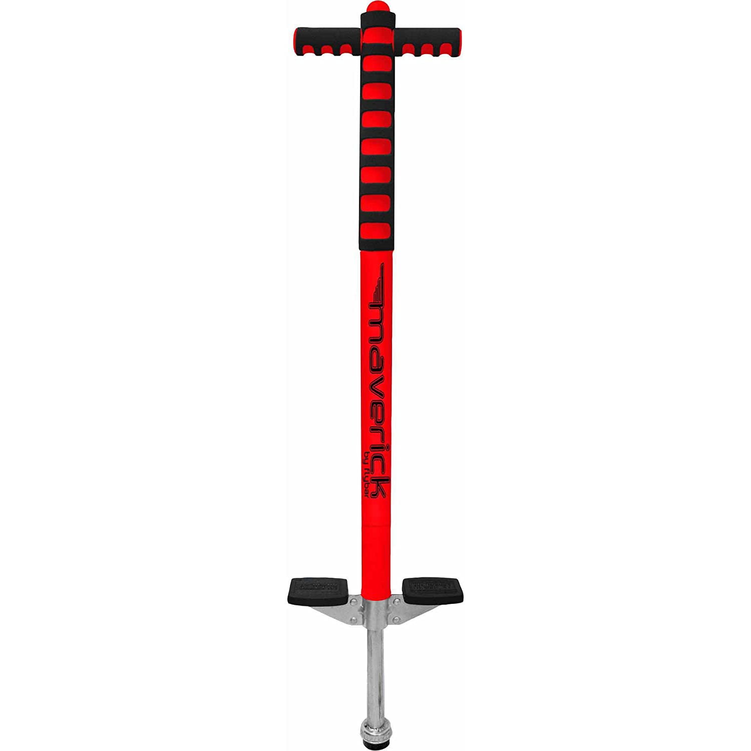 Flybar 4020 Flybar Foam Maverick Pogo Stick Red/Black