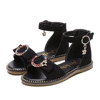 3ee5ba841055 MINIKATA 2018 New Summer Children s Girls Sandals Soft Skin Princess Girl  Shoes Children s Beach Sandals(