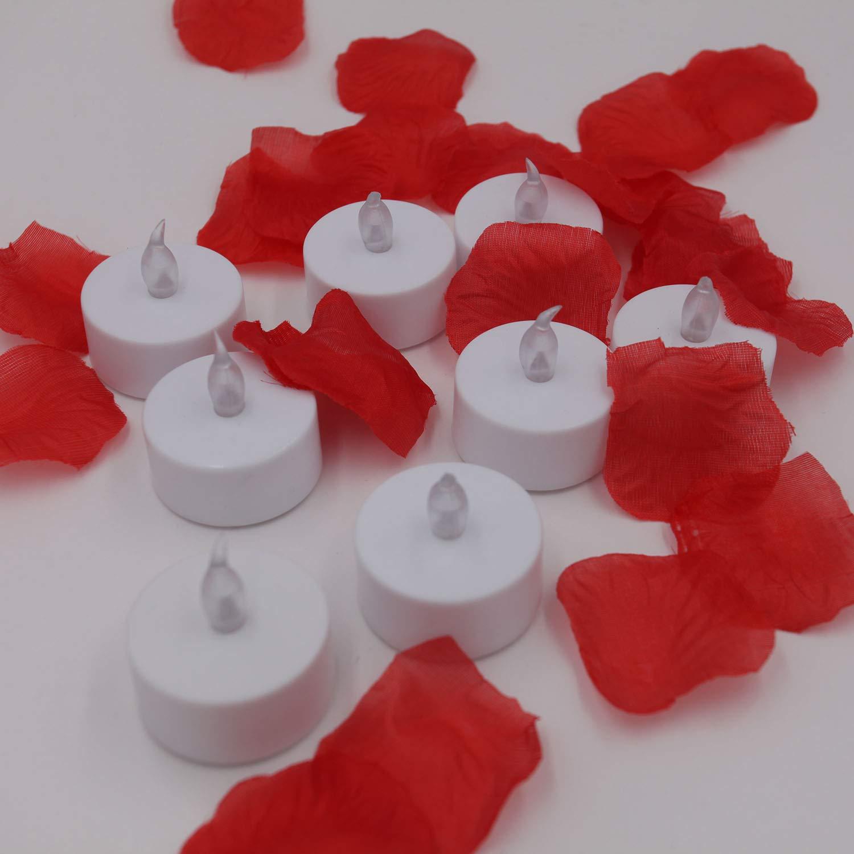 Tea Lights,YIWER Flameless LED Tea Light Candles 100 Hours