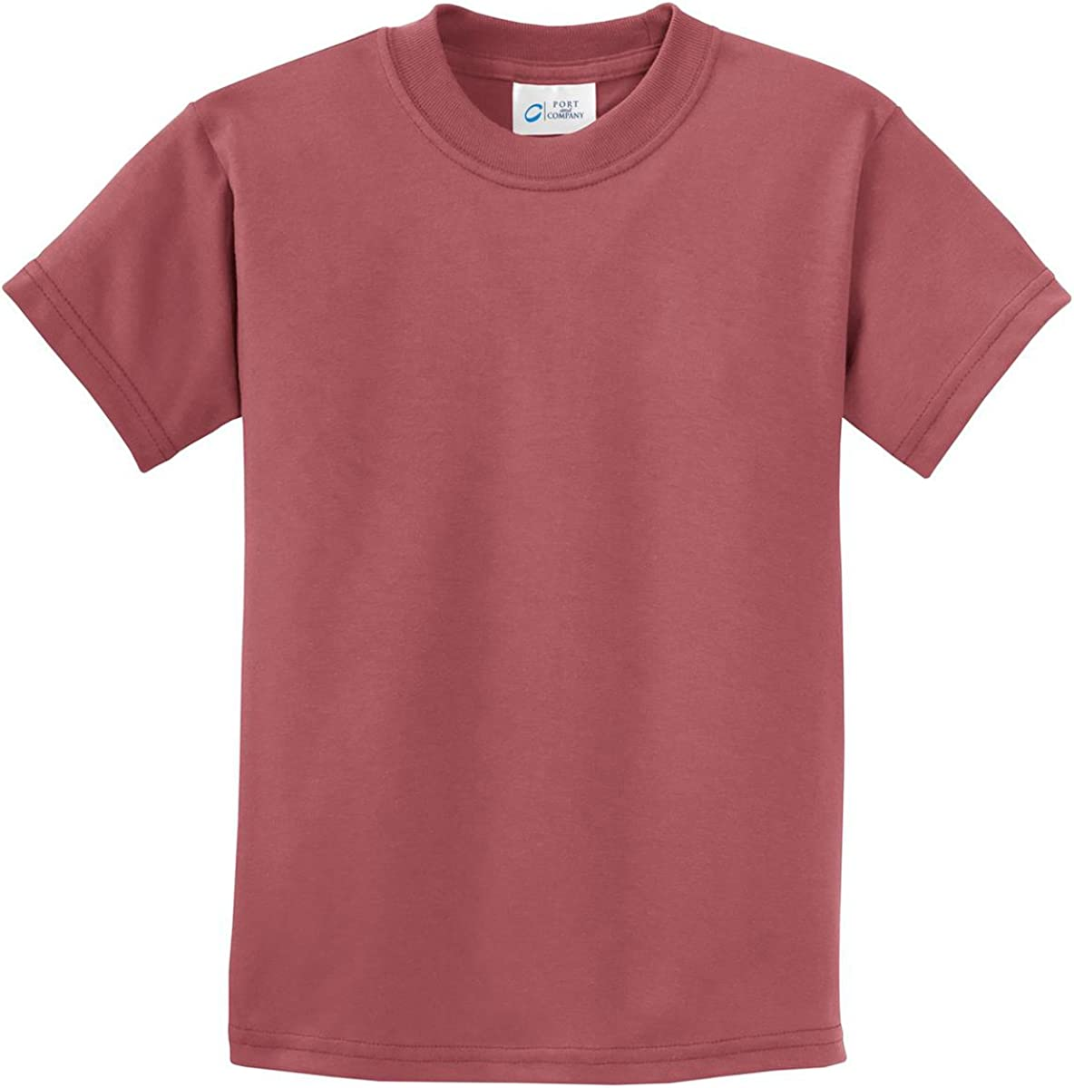 Port /& Company Youth Pigment-Dyed Tee PC099Y T Shirt Unisex