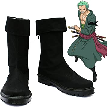 Telacos One Piece Anime Portgas D Ace Cosplay Shoes Boots Custom Made