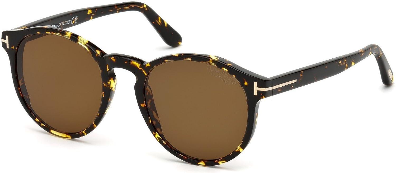 26fc67550b Sunglasses Tom Ford FT 0591 Ian- 02 52M dark havana roviex polarized at  Amazon Men s Clothing store