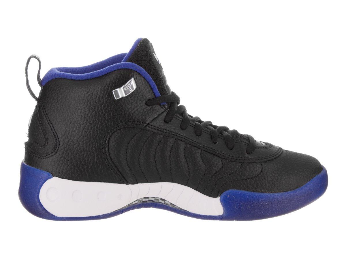 Jordan Nike Kids Jumpman Pro BG Black/Varsity Royal Basketball Shoe 6 Kids US