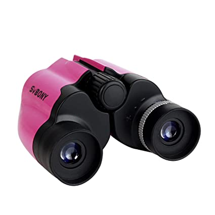 SVBONY Kids Binoculars 8x21 Outdoor For Bird Watching Educational Learning Wildlife Camping Hunting