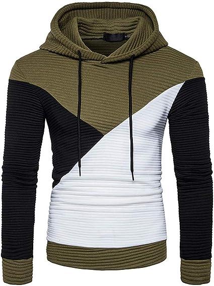 SportsX Mens Regular Fit Funnel Neck Long-Sleeve Nightclub Pullover