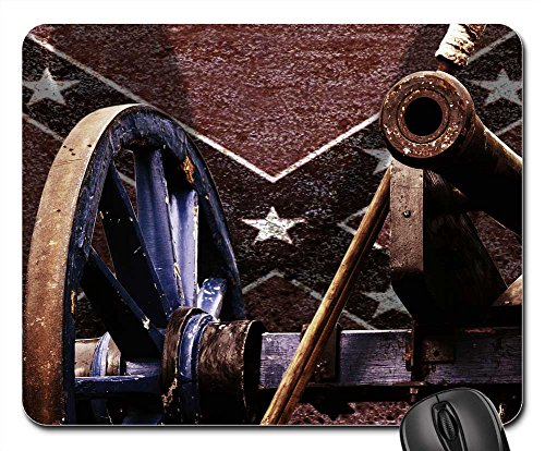 Mouse Pads - Cannon Southern States Usa Kanonem Civil War