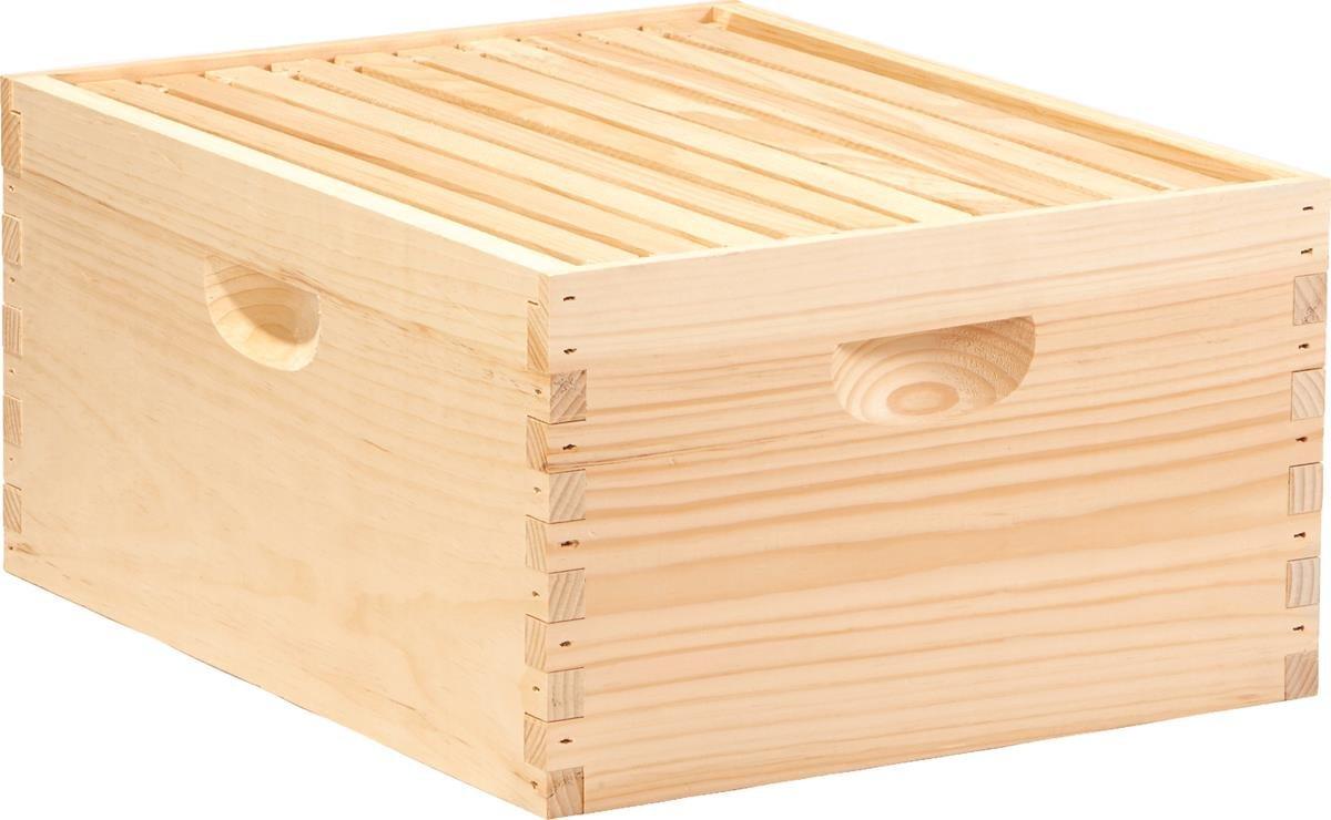 Little Giant Farm & Ag DEEPBOX10 10 Frame Deep Hive Body