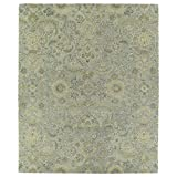 Kaleen Helena Collection Hand Tufted Area Rug, 9' x 12', Silver