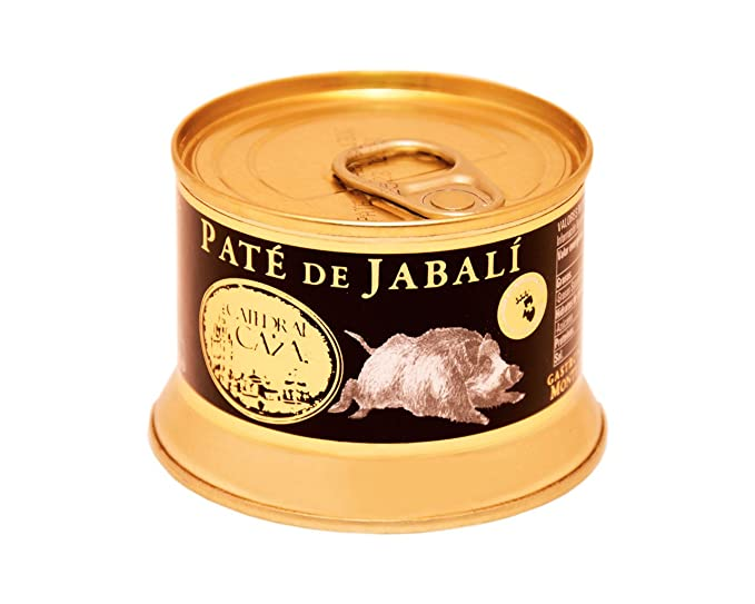 Paté de jabalí 130g (elaborado con carne seleccionada)