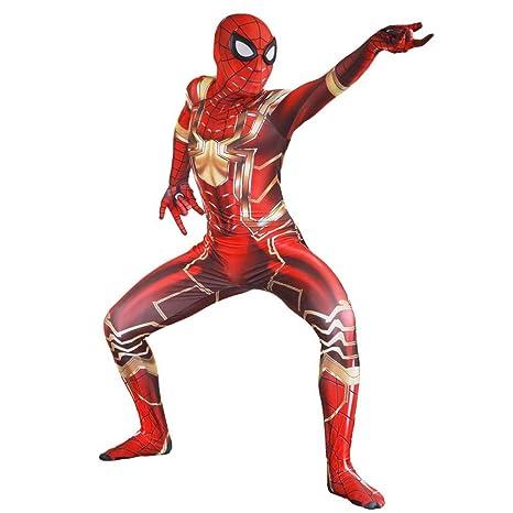 SHANGN Traje De Hombre Araña De Iron Man, Traje De Hombre ...