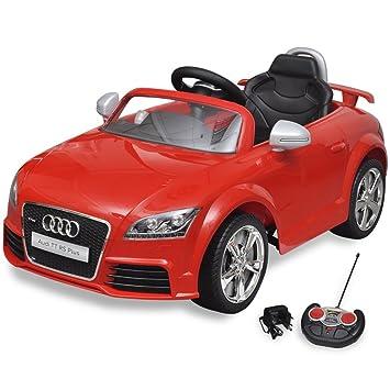 Festnight- Voiture électrique pour Enfant Audi TT RS Rouge avec  télécommande Véhicules électriques et Accessoires 7e80ac1c8d27