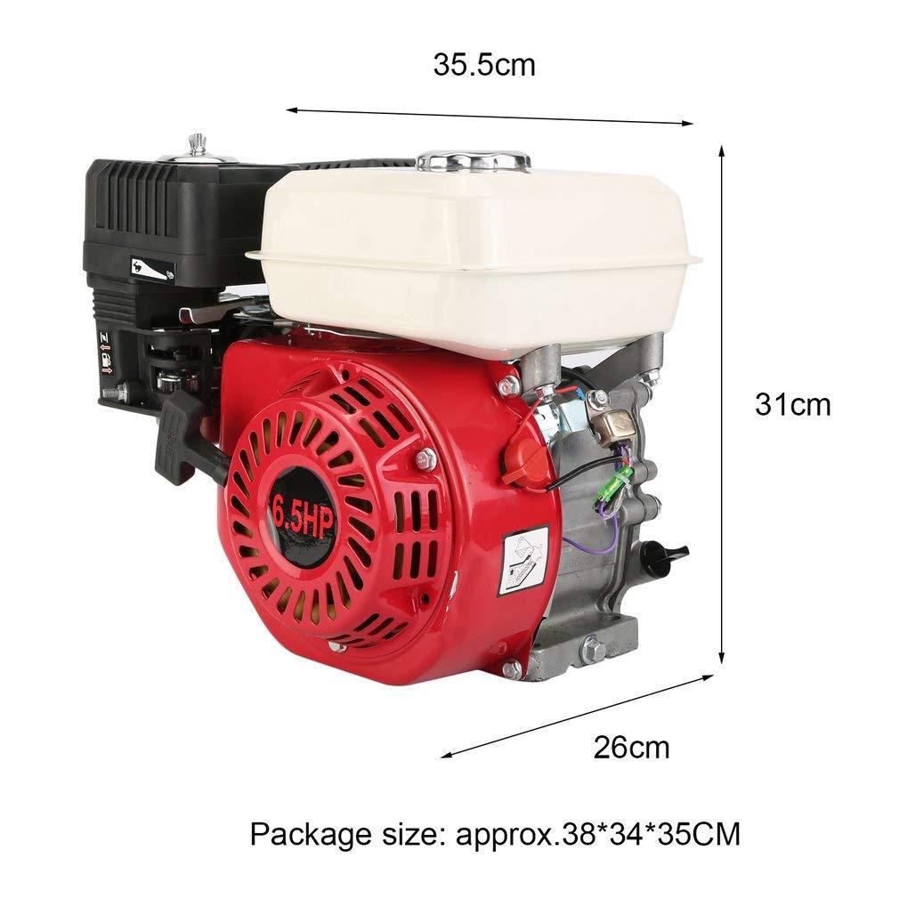 yesper 6,5 PS 4,8 kW 215 cc motor de gasolina para motor Motor de ...