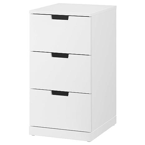 IKEA.. 992.398.37 Nordli - Cajonera con 3 cajones, Color ...