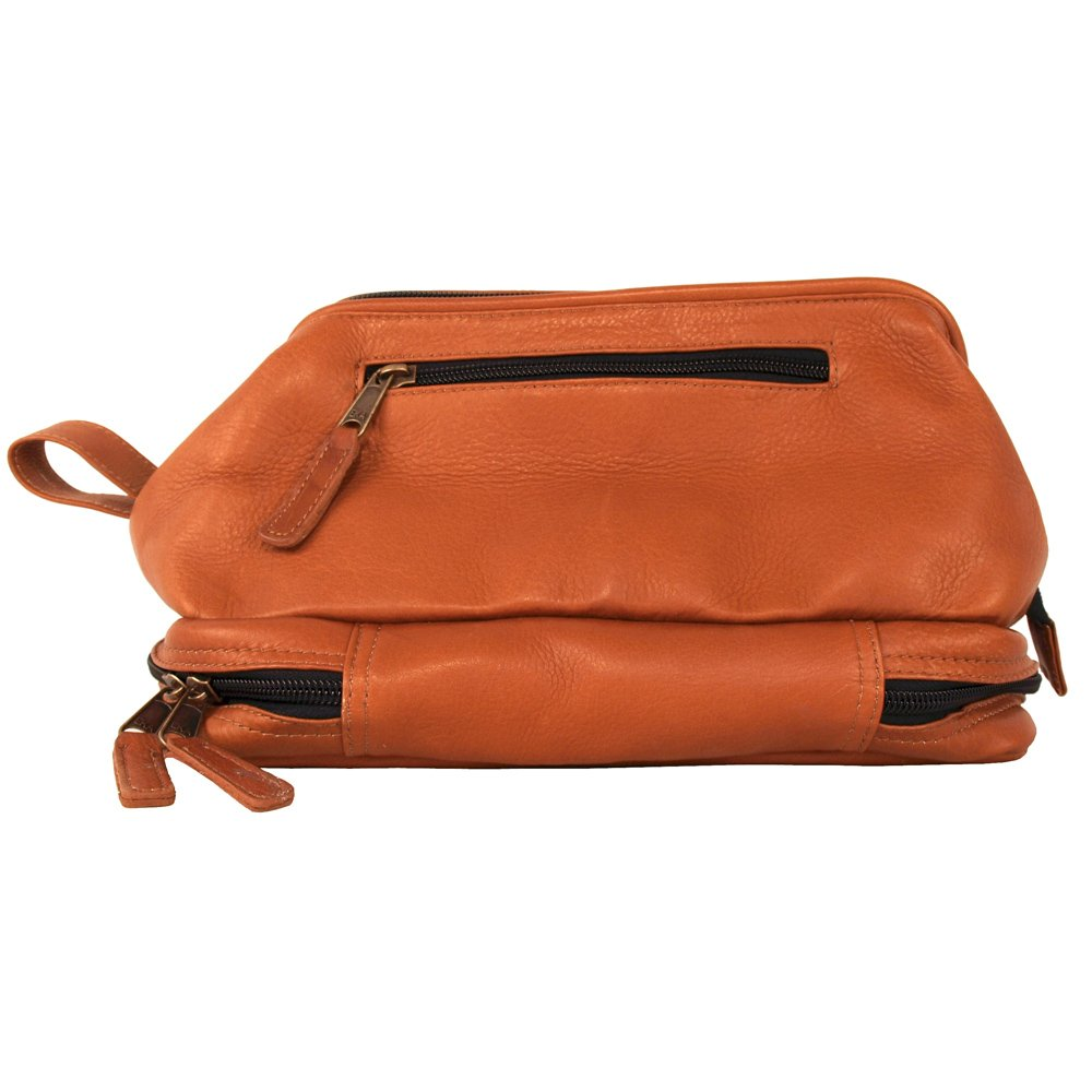 Uptown Travel Kit 100% Luxury Leather Genuine Design Designer Made, Natural by Latico