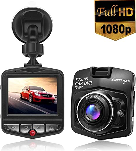 1080P Full HD Car Camera DVR Vehicle Video Camcorder Dash Cams With SD Card