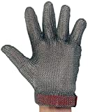 UltraSource 441040-XL Stainless Steel Mesh Glove, Wrist Length Cuff with Replaceable Strap, Size Extra Large, Each