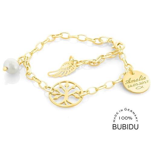 Taufarmband Gold Für Mädchen Armband 925 Silber