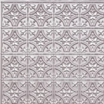 plastic ceiling tiles menards lowes this item cheap wall cover tile tin silver fire rated can be glue any flat on pvc 2x2