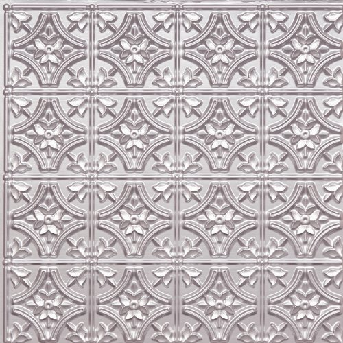 Cheap Wall Cover Plastic Ceiling Tile #150 Tin Silver 2x2 Fire Rated Can Be Glue on Any Flat Surfase,nail On,staple On,tape On!