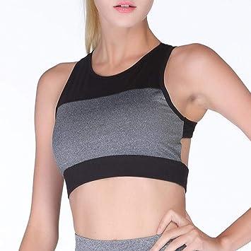 Meyue Mujer Comodidad BH Racerback BH Fitness - Sujetador ...