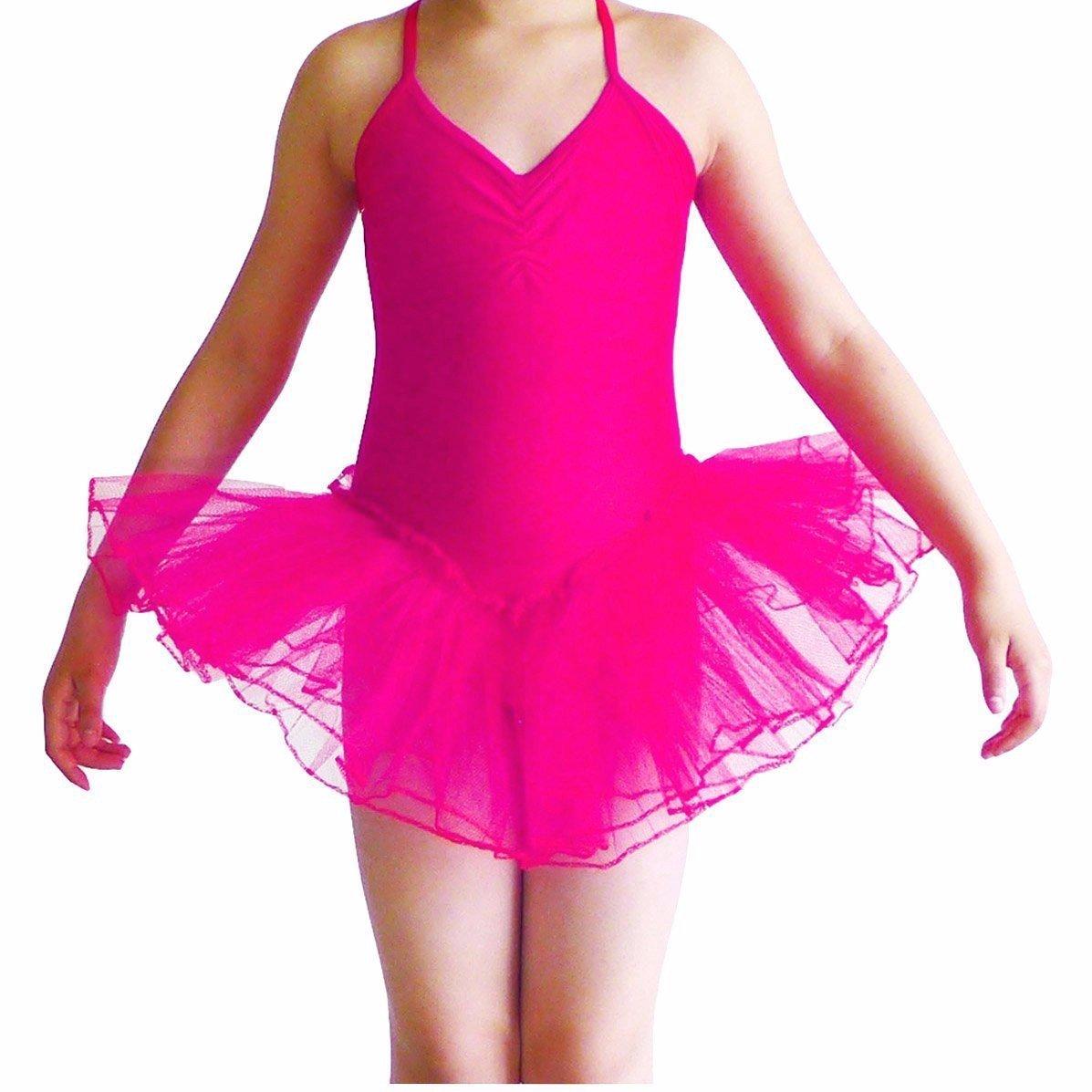 Girls' Camisole Leotard Ballet Dancing Tutu Skirt Fancy Fairy Gymnastics Cocobla 002951_1