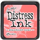 Ranger TDP46769 Distress Mini Ink Pad, Abandoned Coral