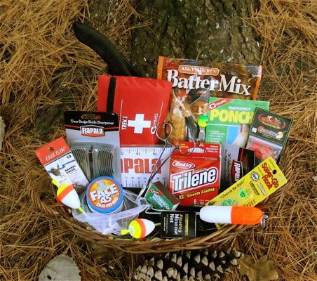 Fisherman's Gift Basket by Fishy Gifts (Fish Gift Baskets)