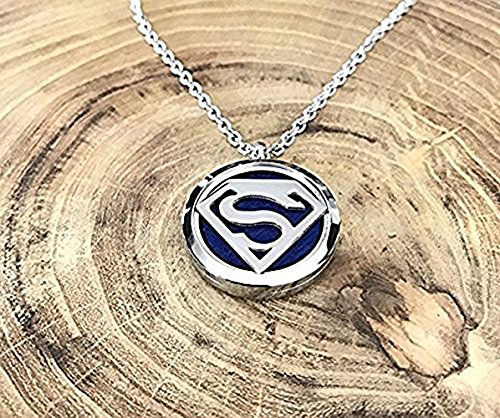 2PCS Aromatherapy Therapy Diffuser Necklace for Essential Oils Pendant Locket Jewelry Hypo-allergenic 316L Surgical Grade Stainless Steel 23.6 Inch Chain and 10pcs Washable pads Perfume Necklace by Aphaca (Image #5)