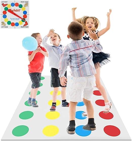 per Juego Twister Juegos de Mesa Familia Niños Aprendizaje ...
