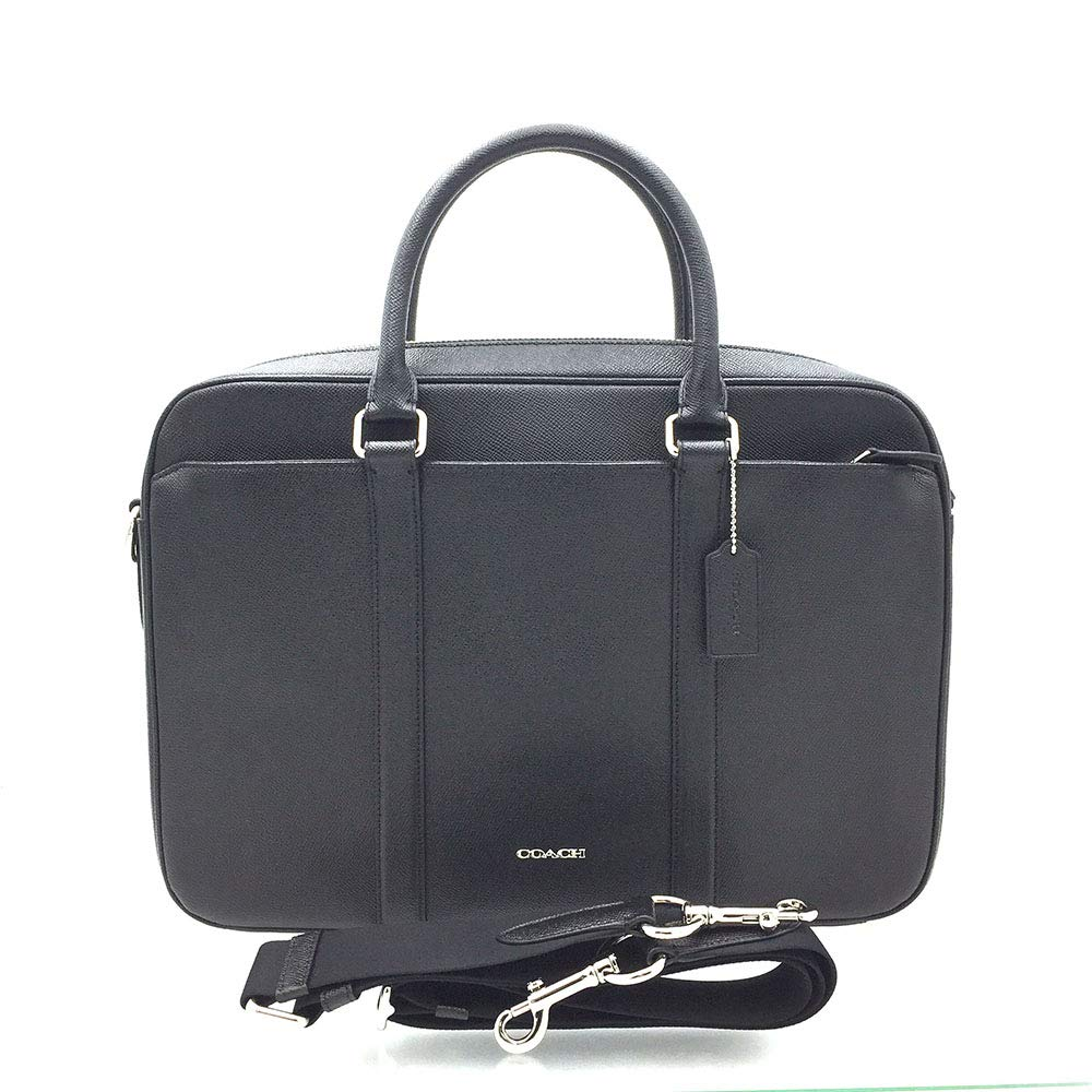 Coach Mens Business Briefcase/ Shoulder Bag Black